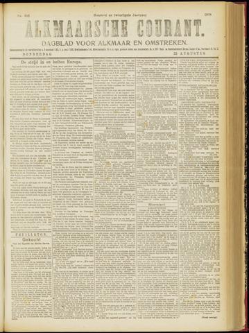 Alkmaarsche Courant 1918-08-22