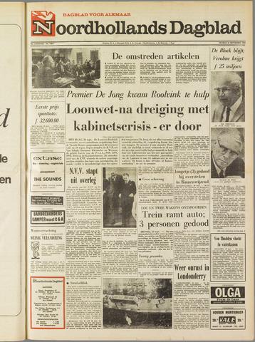Noordhollands Dagblad : dagblad voor Alkmaar en omgeving 1969-09-26
