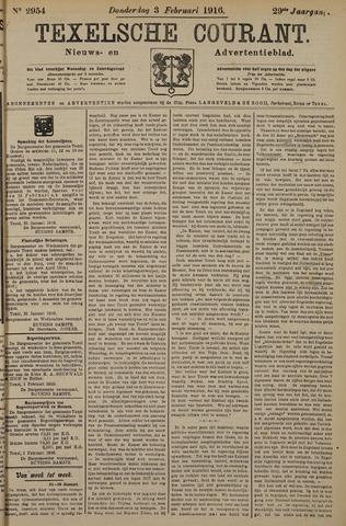Texelsche Courant 1916-02-03