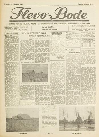 Flevo-bode: nieuwsblad voor Wieringen-Wieringermeer 1946-12-11