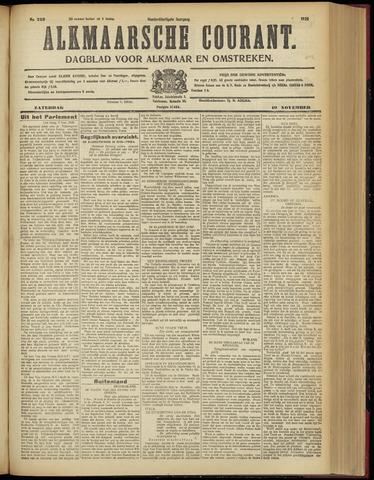 Alkmaarsche Courant 1928-11-10