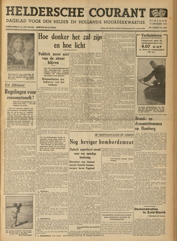 Heldersche Courant 1940-09-10