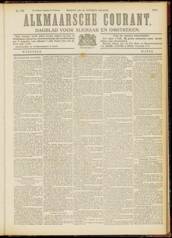 Alkmaarsche Courant 1919-07-16