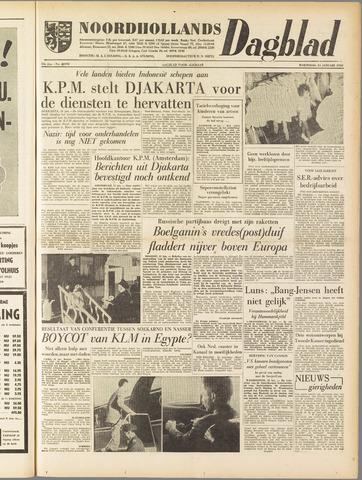 Noordhollands Dagblad : dagblad voor Alkmaar en omgeving 1958-01-15