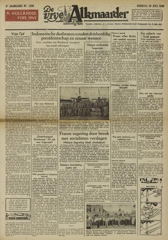De Vrije Alkmaarder 1948-07-20