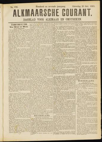 Alkmaarsche Courant 1905-10-21