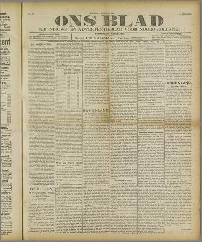 Ons Blad : katholiek nieuwsblad voor N-H 1921-02-11