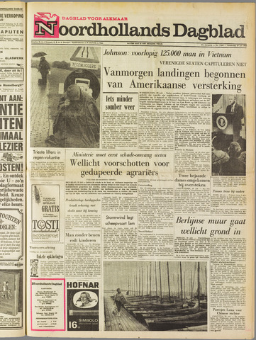 Noordhollands Dagblad : dagblad voor Alkmaar en omgeving 1965-07-29