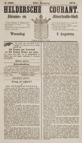 Heldersche Courant 1871-08-09
