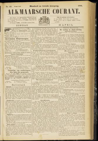 Alkmaarsche Courant 1900-04-22