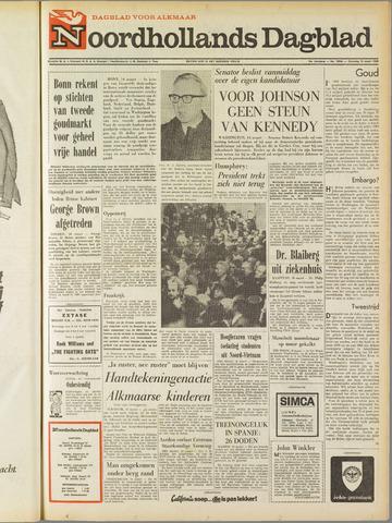 Noordhollands Dagblad : dagblad voor Alkmaar en omgeving 1968-03-16