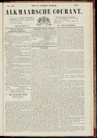 Alkmaarsche Courant 1881-12-28