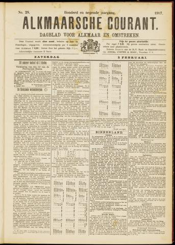 Alkmaarsche Courant 1907-02-02