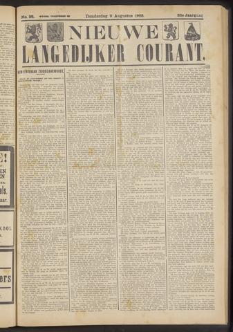 Nieuwe Langedijker Courant 1923-08-09