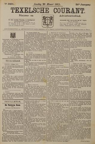 Texelsche Courant 1911-03-26