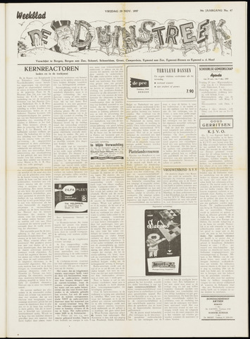 De Duinstreek 1957-11-29