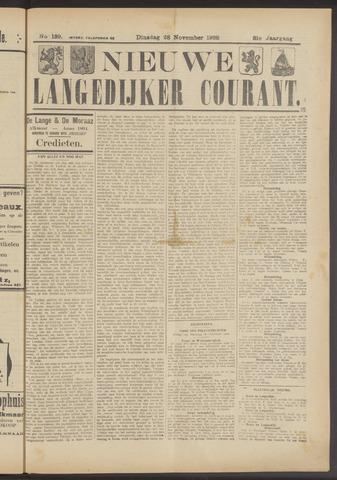 Nieuwe Langedijker Courant 1922-11-28