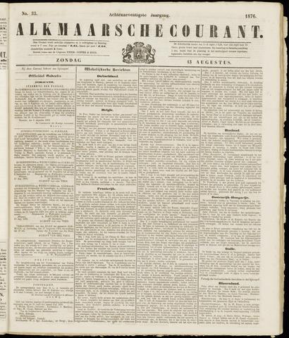 Alkmaarsche Courant 1876-08-13