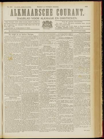 Alkmaarsche Courant 1918-09-18