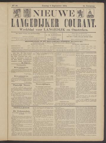 Nieuwe Langedijker Courant 1894-09-09