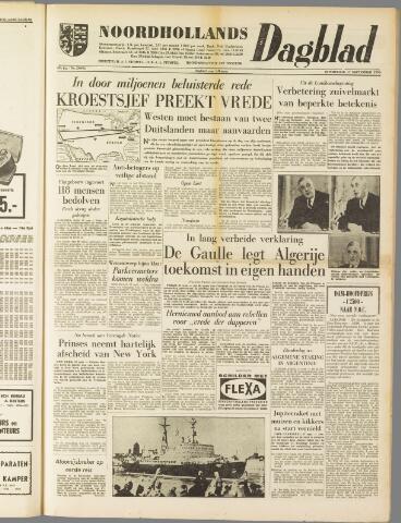 Noordhollands Dagblad : dagblad voor Alkmaar en omgeving 1959-09-17