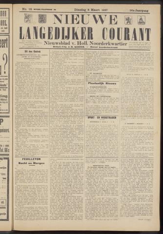Nieuwe Langedijker Courant 1927-03-08