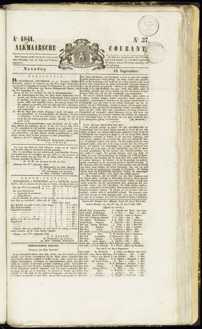 Alkmaarsche Courant 1841-09-13