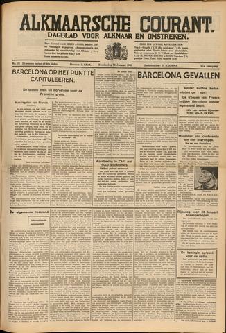 Alkmaarsche Courant 1939-01-26