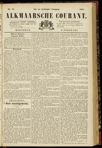 Alkmaarsche Courant 1884-02-06