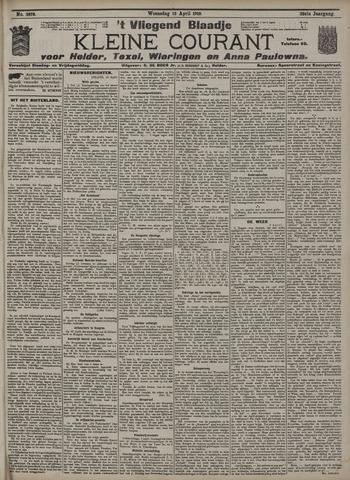 Vliegend blaadje : nieuws- en advertentiebode voor Den Helder 1910-04-13