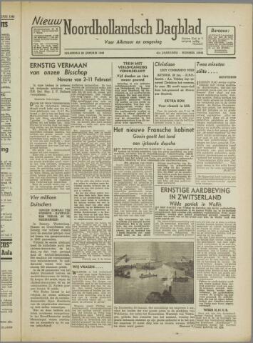 Nieuw Noordhollandsch Dagblad : voor Alkmaar en omgeving 1946-01-28
