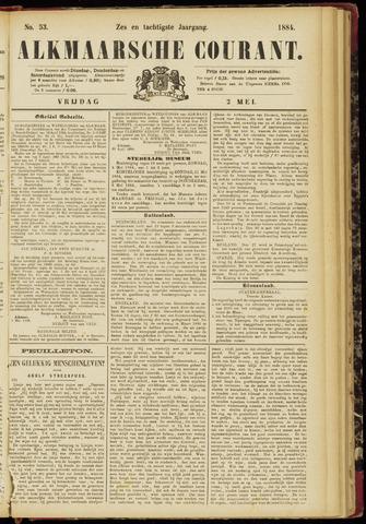 Alkmaarsche Courant 1884-05-02
