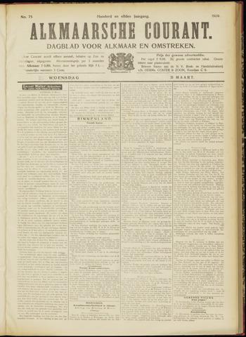 Alkmaarsche Courant 1909-03-31