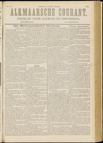 Alkmaarsche Courant 1914-08-13