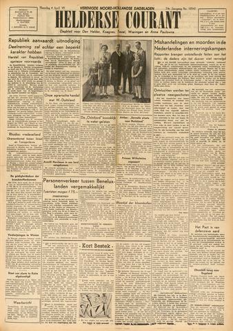 Heldersche Courant 1949-04-04