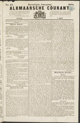 Alkmaarsche Courant 1868-04-05