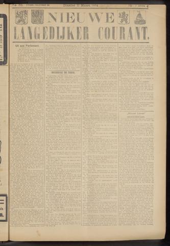 Nieuwe Langedijker Courant 1924-03-11