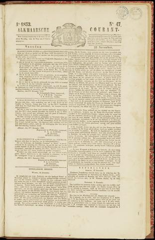 Alkmaarsche Courant 1853-11-21