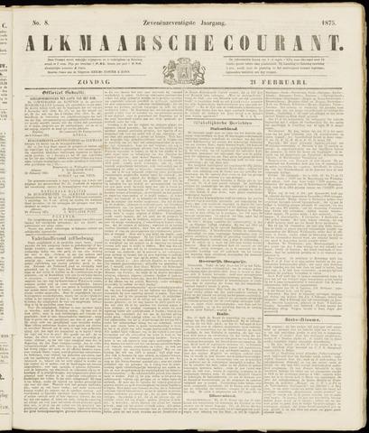 Alkmaarsche Courant 1875-02-21