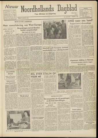 Nieuw Noordhollandsch Dagblad : voor Alkmaar en omgeving 1948-01-23