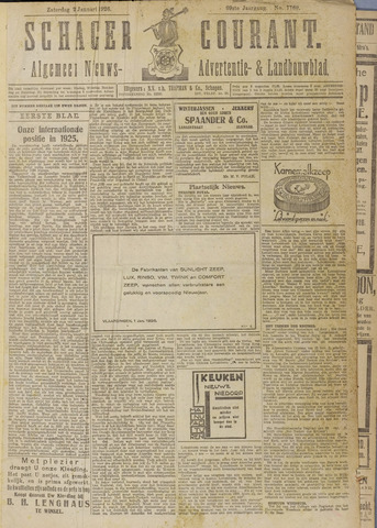 Schager Courant 1926