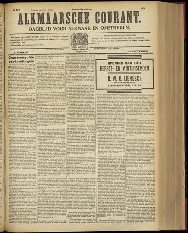 Alkmaarsche Courant 1928-09-15