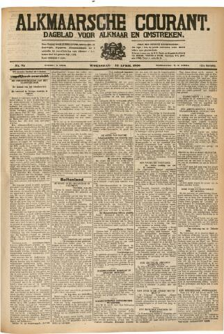 Alkmaarsche Courant 1930-04-23