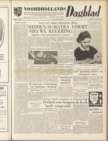 Noordhollands Dagblad : dagblad voor Alkmaar en omgeving 1958-02-17