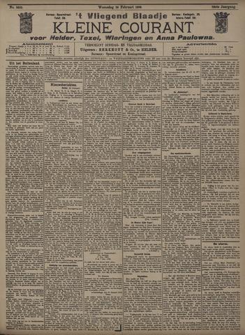 Vliegend blaadje : nieuws- en advertentiebode voor Den Helder 1908-02-26