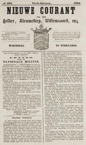 Nieuwe Courant van Den Helder 1864-02-10