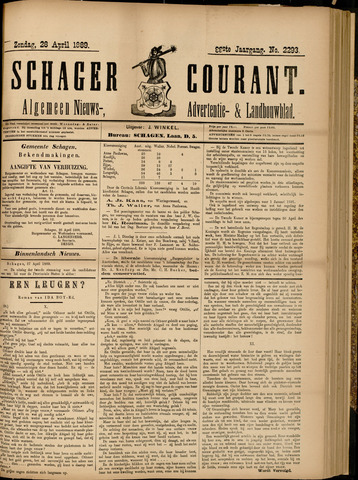 Schager Courant 1889-04-28