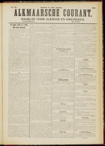 Alkmaarsche Courant 1909-06-26