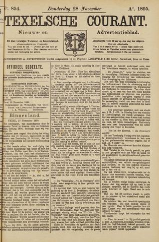 Texelsche Courant 1895-11-28