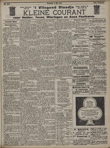 Vliegend blaadje : nieuws- en advertentiebode voor Den Helder 1907-05-22
